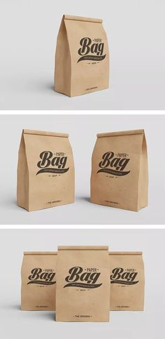 we present Free Product Packaging Mockup PSD. These mockup psd files uses smart object feature which mean that you can easily replace current packaging D Lab, Paper Bag Design, Free Mockup Templates, Web Design, Graphic Design, Bag Mockup, Free Paper, Creations, Photoshop
