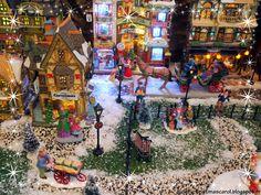 Lemax christmas village display 2014 / Village de Noël Lemax2014. Visit our christmas blog on http://audreychristmascarol.blogspot.fr/ #lemax #christmas #display
