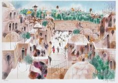 Paintings by Israeli Artist Shmuel Katz