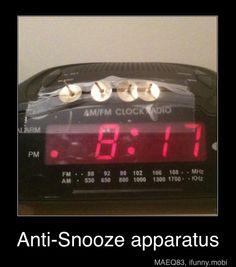 alarm clock!