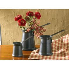 Country Village Shoppe - Measuring Cups Set (Set of 3), $32.95 (http://www.countryvillageshoppe.com/measuring-cups-set-set-of-3/)