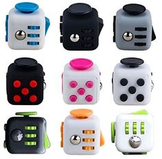Fidget Dice Toy 6 Sides Release Stress Anxiety and Relax for Children and Adults >>> Want additional info? Click on the image. Note:It is Affiliate Link to Amazon.