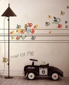 Little Hands Wallpaper Mural - Wait for Me