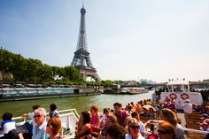 The beautiful Paris skyline and River Seine