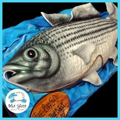 Looking for cake decorating project inspiration? Check out Striped Bass Cake by member BlueSheep.