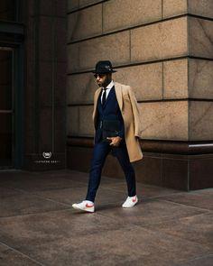 Dapper Gentleman, Gentleman Style, Gentleman Fashion, Dapper Men, Business Casual Men, Men Casual, Business Formal, Fedora Outfit, Trench Coat Outfit