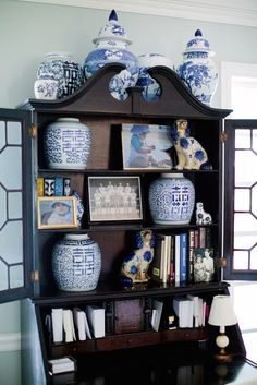 Blue and White Southern Charm- The Glam Pad