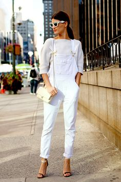 Overalls are back! 打破傳統拘束,工人褲回歸!   Popbee - a fashion, beauty blog in Hong Kong.