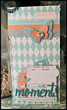 TERESA COLLINS DESIGN TEAM: Mini album project by Julie Jacob