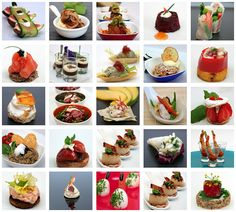 Canape Events Parties London - Canapes & Bowl Food