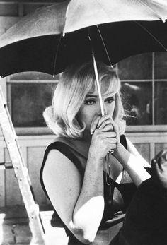Marilyn Monroe on set of The Misfits, 1960