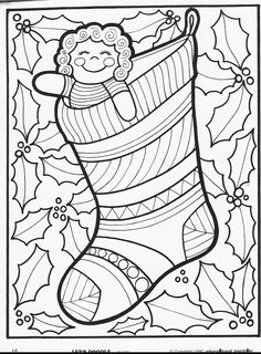 More Let's Doodle Coloring Pages! - Inside Insights!