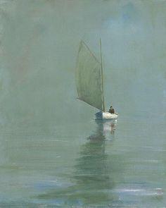 Lone Sail Anne Packard