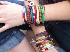 Design your own Nuna Friendship bracelet set of por NoliePolieOlies, $36.00