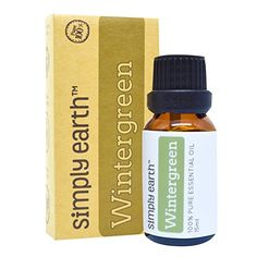 Wintergreen Essential Oil by Simply Earth  15 ml 100 Pure Therapeutic Grade -- Check this awesome product by going to the link at the image.