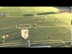 Run an Efficient 2-2-3 Triangle Offense! - Lacrosse 2015 #16