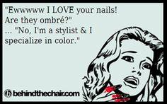 D.I.Y. Ombre nails :)