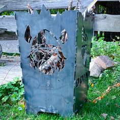 Feuerkorb Odin individueller Feuerkorb mit Wunschmotiv Wir fertigen - nur für Sie - nach Ihrer Vorlage oder eines von uns für Sie erstellten Motivs Ihre robuste Feuerschale, einen eleganten Feuerkorb oder eine rustikale Feuertonne - ganz nach Ihren Vorstellungen aus hochwertigem 4 mm Stahl.