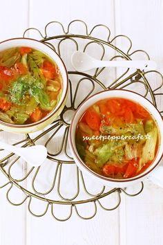 レタスととまとのスープ。 by しのはら じゅんこ | レシピサイト ...