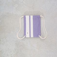 fouta Upcycling Turnbeutel klein · gym bag small via acasa.berlin. Click on the image to see more!