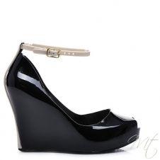 Dámské černé lodičky MELY #shoes #platform #fashion