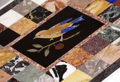 #pietradura #marbletable made by Matt Hurley of Devon