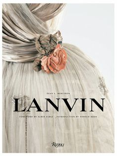 #Lanvin - setting type for fashion advertisements.