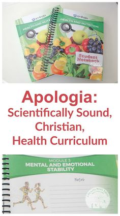 a scientifically based health curriculum with a Biblical worldview? Look no further, Apologia has delivered!for a scientifically based health curriculum with a Biblical worldview? Look no further, Apologia has delivered! High School Health, Health Class, Health Lessons, Homeschool Curriculum Reviews, Homeschool High School, Science Curriculum, Nutrition Education, Health And Nutrition, Nutrition Jobs