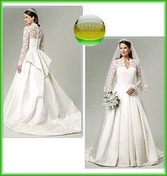 Royal Wedding Kate Middleton Wedding Dress Patterns