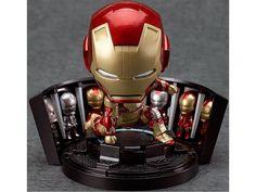 Iron Man 3 Mark XLII Nendoroid Hall of Armor Set - Iron Man 3 (2013 Movie) Figures