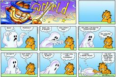 Garfield | Daily Comic Strip on October 31st, 2004