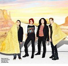 MCR in NME Magazine (December 2010)