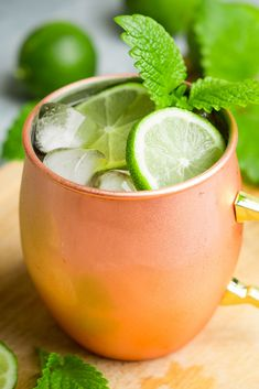 Green tea-infused vodka provides great flavor in this unique twist on the classic Moscow Mule recipe, featuring fresh ginger and much lower sugar impact. Get this gluten free, dairy free, low sugar cocktail recipe now. Moscow Mule Recipe, Moscow Mule Mugs, Cocktail Recipes, Cocktails, Drinks, Dairy Free, Gluten Free, Green Tea Bags, Premium Vodka