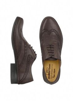 7460bd084cdf Pakerson Dark Brown Handmade Italian Leather Wingtip Oxford Shoes   Skirtoxfordshoes Oxford Shoes Outfit