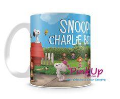Caneca Snoopy 3D