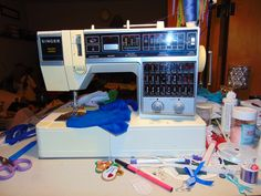 My Wife's 1984 Singer Limited Edition sewing machine.
