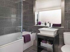 Resultado de imagen para baños color bordo