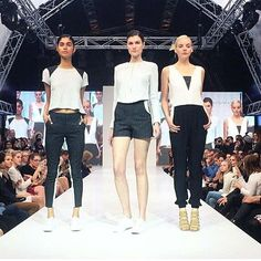 Great to see two of our brands together on the runway last night  @oncewas__ & @deptfinery, great show Xx #marshmellowboutique #catwalk #mfw #incewas #finery #australiandesigner #SS15/16 #fashion #shoes regram Oncewas - shop the look soon in store and on line www.marshmellow.com.au