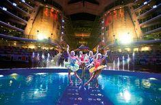 Royal Caribbean Aqua Theater.