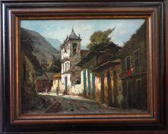 DURVAL PEREIRA - Ouro Preto, ost, 60x80cm, assinado.