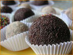 i-Recetas: Trufas de chocolate negro y blanco (trufas variadas)