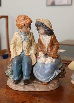 lead free pewter chick figurine #49