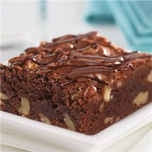 Deliciously Rich Chocolate Brownies - Easily the perfect brownie recipe. This decadent brownie is second to none with a moist, fudgy taste guaranteed to please any chocolate lover.