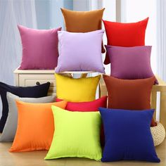 Honana WX-137 40x40cm Solid Color Pillow Case Sofa Cushion Bedside Office Car Chair Pillow Cover Christmas Description: Honana 40x40cm Solid Color Pillow Case Sofa Cushion Bedside Office Car Chair Pillow Cover Christmas Spandex material wear-resisting and durable. Durable and environmentally friendly material easy to wash. Comfortable and soft it will make you have a good rest. Bright colors to attract your attention. Specification: Size: 40cm x 40cm Material: Spandex Color: Dark Purple Dark…