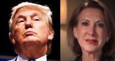 Trump falls, Fiorina jumps in GOP race
