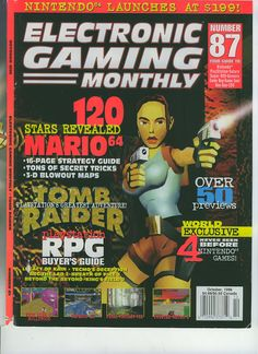 Electronic Gaming Monthly – Issue Number 87 – October 1996 #gaming #gamer