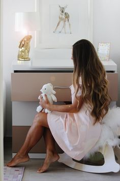 https://polini-kids.de/ http://skinnycature.com/changing-table-organisation-musthaves-how-to-style-it/ Babygirl's nursery, nursery ideas in pastel, gender neutral nursery