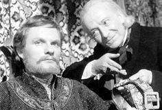 William Hartnell as the First Doctor with Julian Glover as Richard the Lionheart…