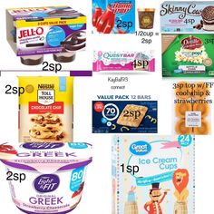 Weight Watchers Food Points, Weight Watchers Meal Plans, Weigh Watchers, Weight Watchers Free, Weight Watchers Desserts, Weightwatchers Recipes, Ww Desserts, Ww Recipes, Eating Clean