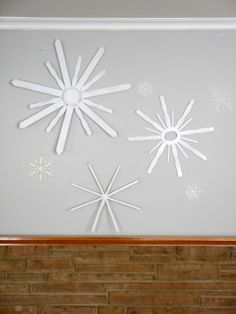 Giant snowflakes C.R.A.F.T.
